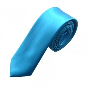 Turkis blåt slips