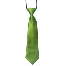 Grønt slips til børn