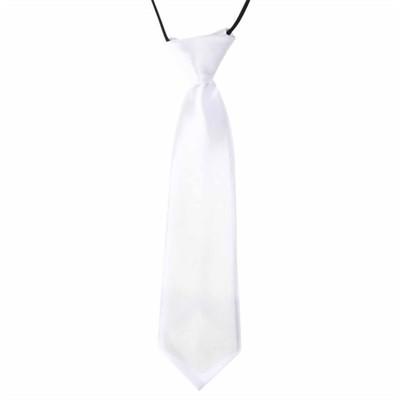 Hvidt slips til børn
