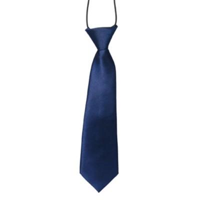 Mørkeblåt slips til børn