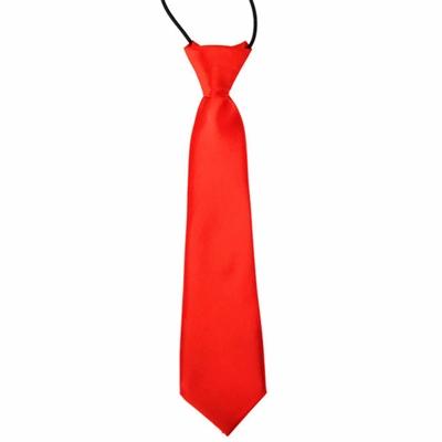 Rødt slips til børn