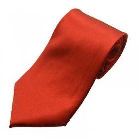 Bordeuaxrødt bredt slips