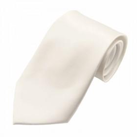 Hvidt bredt slips