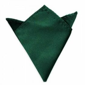 Mørkegrøn lommeklud