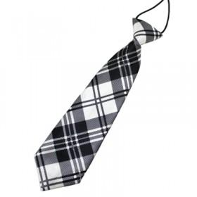 Ternet hvidt slips til børn
