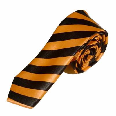 Stribet orange slips
