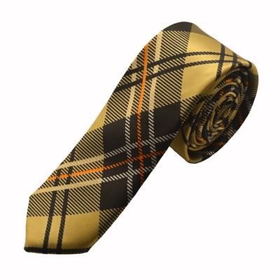 Mønstret guld slips