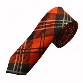 Mønstret rødt slips