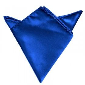 Blå lommeklud