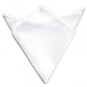 Hvid lommeklud