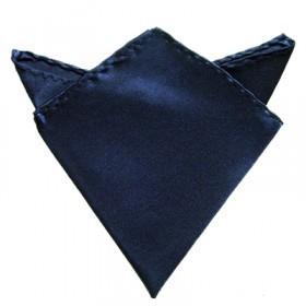 Mørkeblå lommeklud