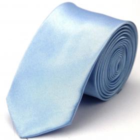 Lyseblåt slips