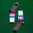 Grå sokker med mønster