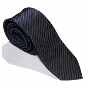Luksusslips - mørkeblåt med striber